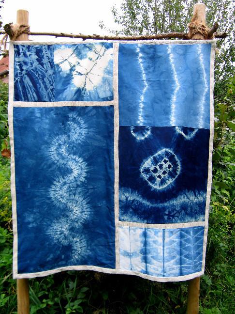 Stoffe Färben textiles werken